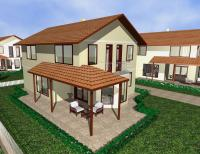 Four houses for sale near Sunny Beach
