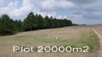 Plot of land on lake near Varna